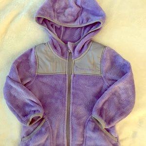 Toddler girl fleece jacket.